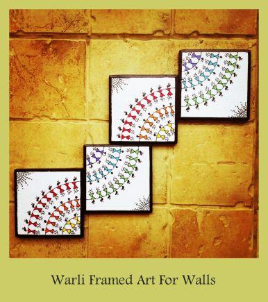 warli art painting_www.fashionhaat.com