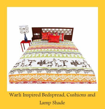 warli bedspread