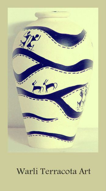 warli terracotta pot_pinterest