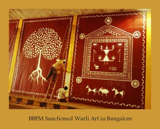 Warli wall _The Hindu