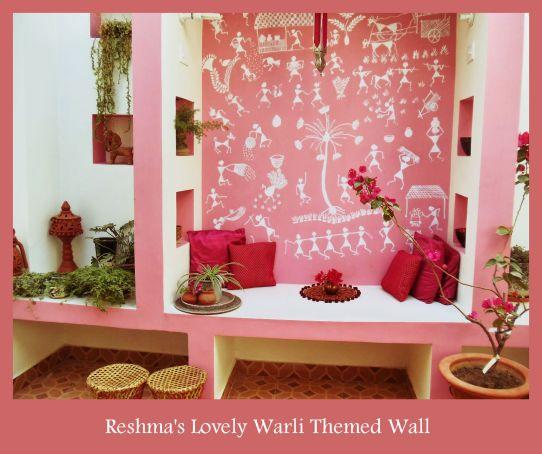 Warli Wall_Reshma