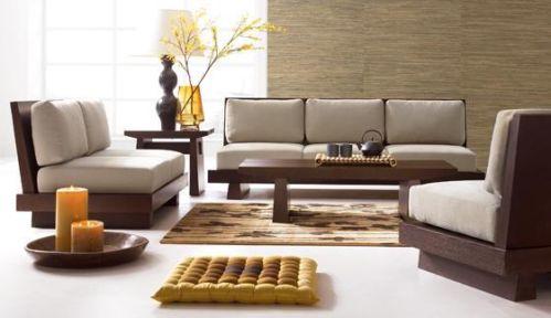 Japanese Style Low Seating Furniture (Image Credit : KraftNDecor)