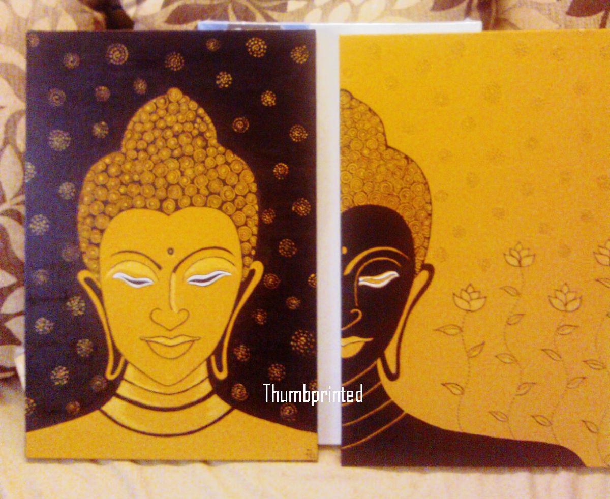 Wall | thumbprinted