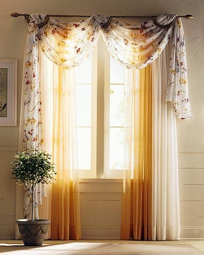 combination curtains