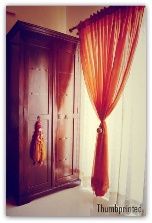 A traditional almarah in our bedroom