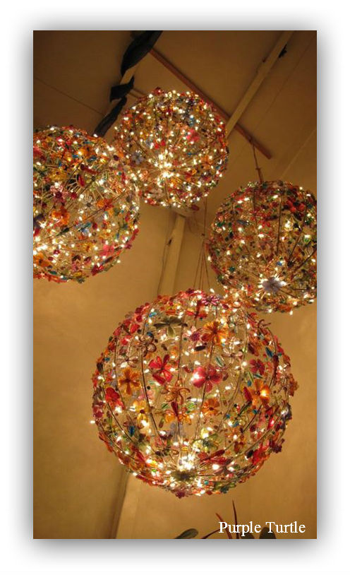 Fire Fly Bead Spheres