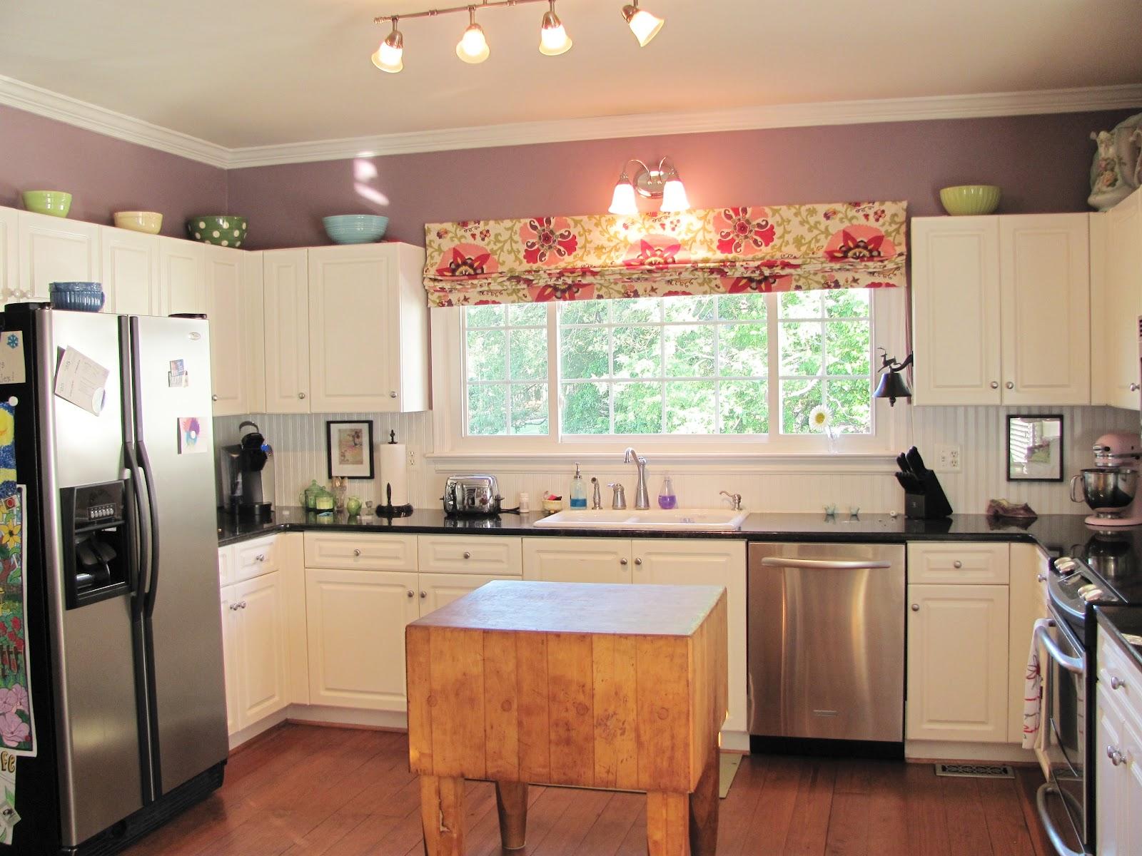 Roman curtains kitchen -  Kitchen Shade Roman