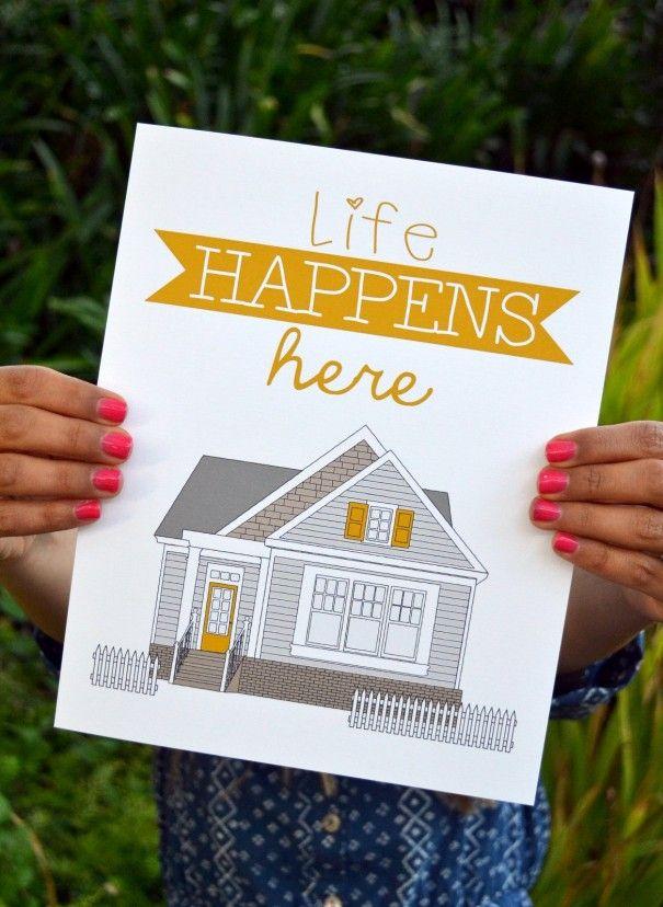 life  happens here