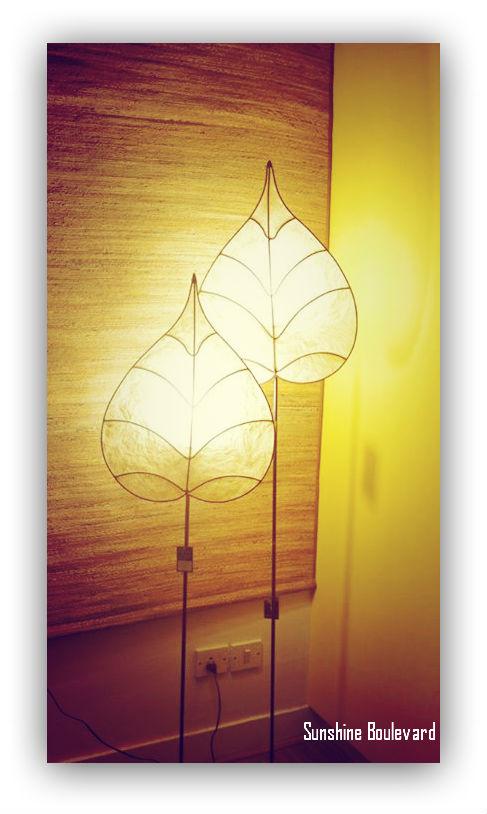 Peepal Leaf Floor Lamp