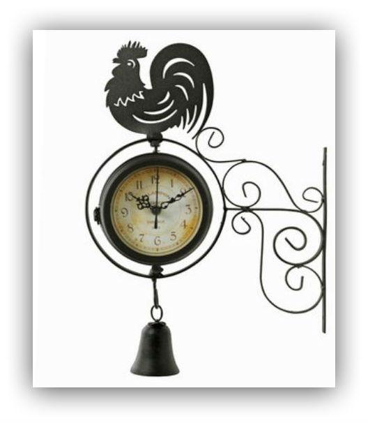 Rooster Railway clock