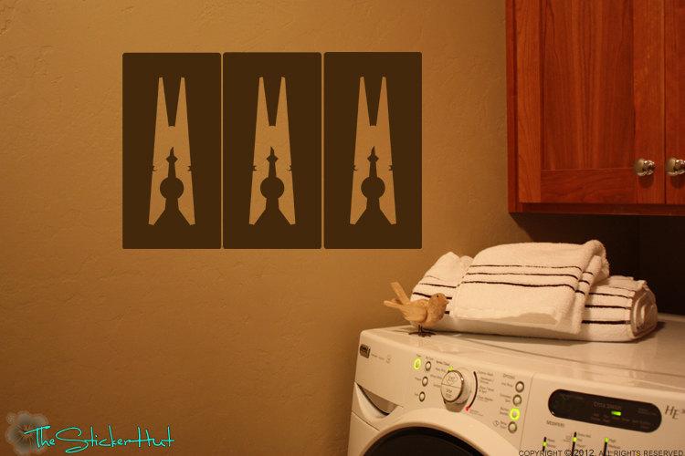 vinyl wall art stickers in 3 panels