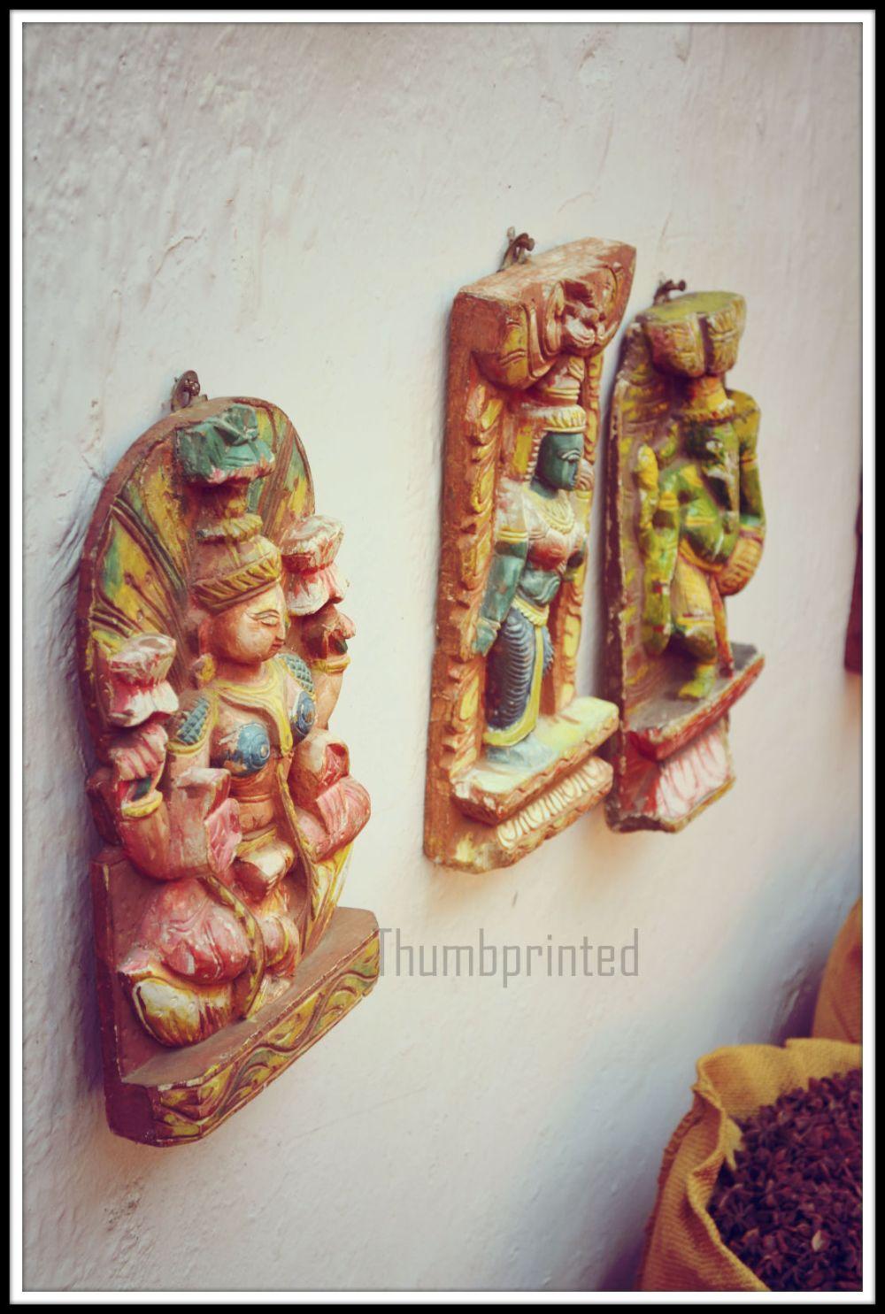gods on the walls