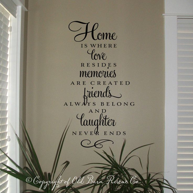 Wall Art Quotes About Love : Inspiration on the wall thumbprinted